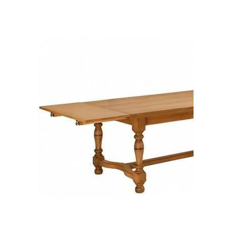 2 allonges de 40 cm sur tirette le bois d 39 antan. Black Bedroom Furniture Sets. Home Design Ideas