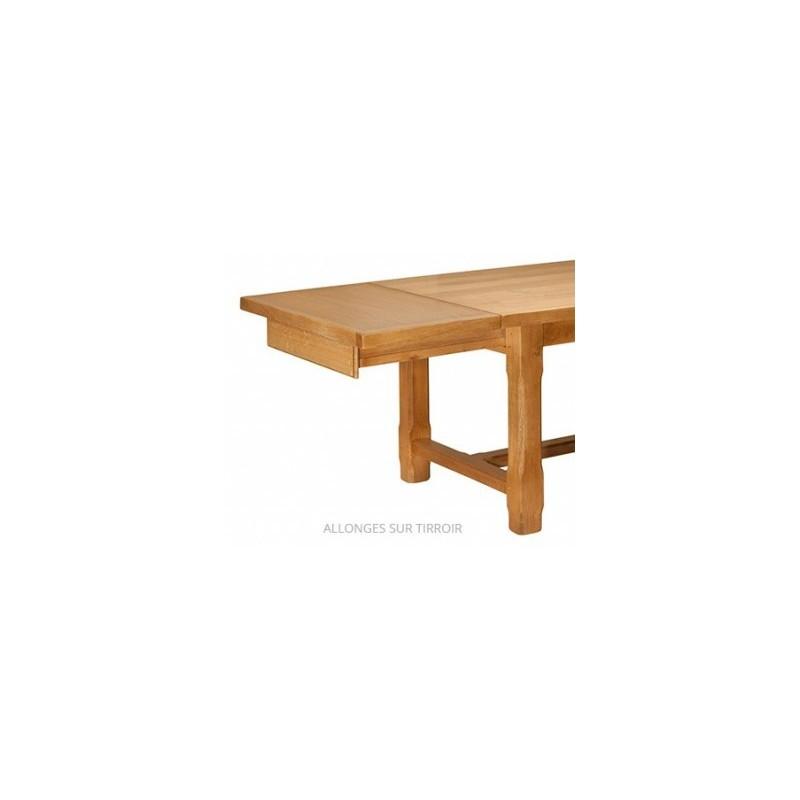 1 allonge de 40 cm pos e sur tiroir le bois d 39 antan. Black Bedroom Furniture Sets. Home Design Ideas