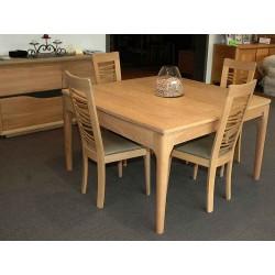 Table rectangulaire et carrée Vintage en Chêne massif