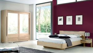 Cuisines et meubles en bois massifs non trait le bois d for Chambre a coucher adulte en solde